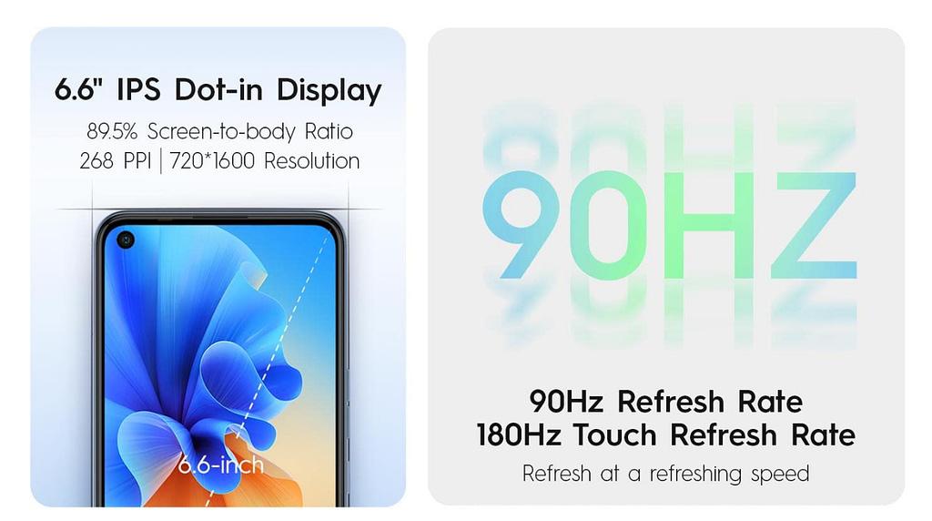 Tecno Spark 7 Pro display