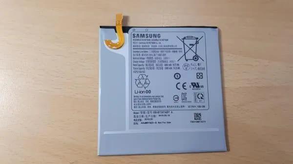 Samsung Galaxy A42 5G battery info