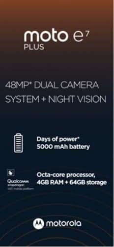 Moto E7 Plus leaked specs