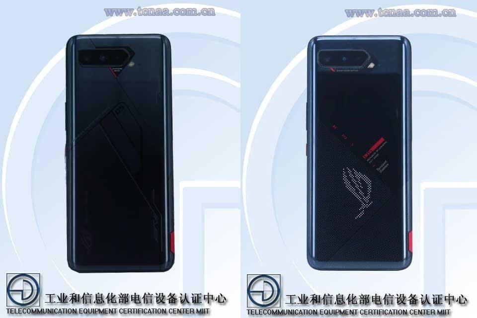 Asus ROG Phone 5 TENAA image