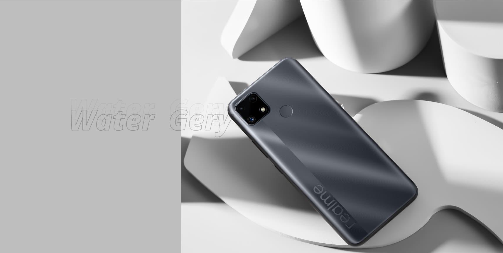 Realme C25 in Grey color