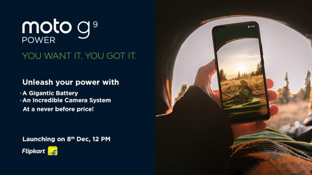 Moto G9 Power India launch
