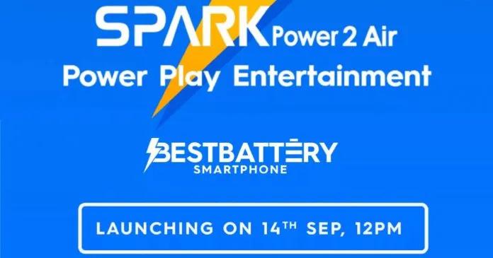 Tecno Spark Power 2 Air - Flipkart