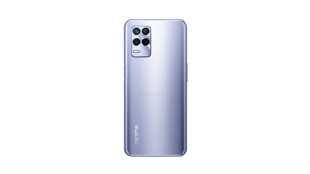 Realme 8s 5G lRealme 8s 5G leaked rendereaked render