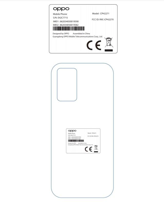 OPPO CPH2271 FCC details-2