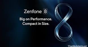 ASUS Zenfone 8 series launch poster