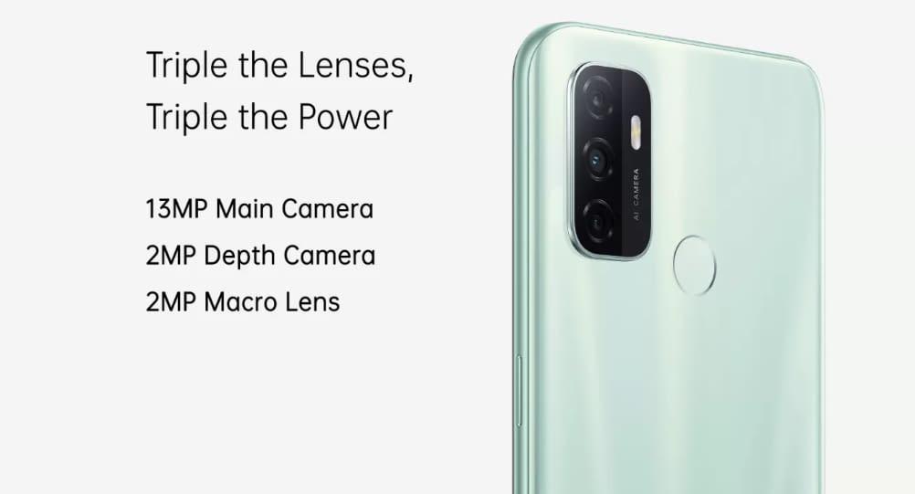 Oppo A33 camera
