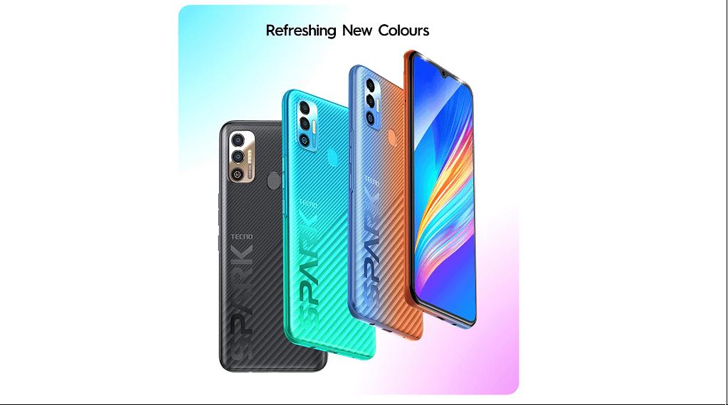Tecno Spark 7T colour options
