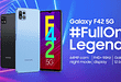Samsung Galaxy F42 5G India Launch poster