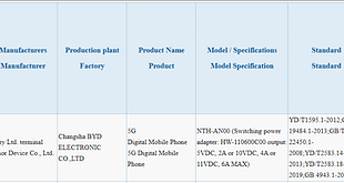 Honor NTH-AN00 - 3C certification