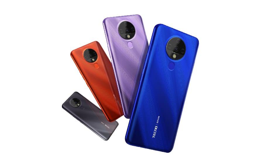 Tecno Spark 6 - colors