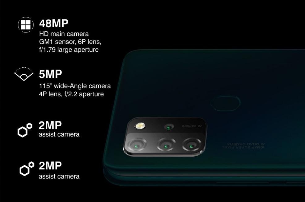 Gionee M12 camera