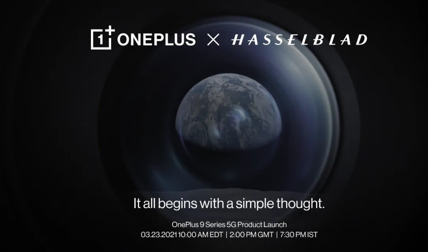 OnePlus 9 series launch date poster