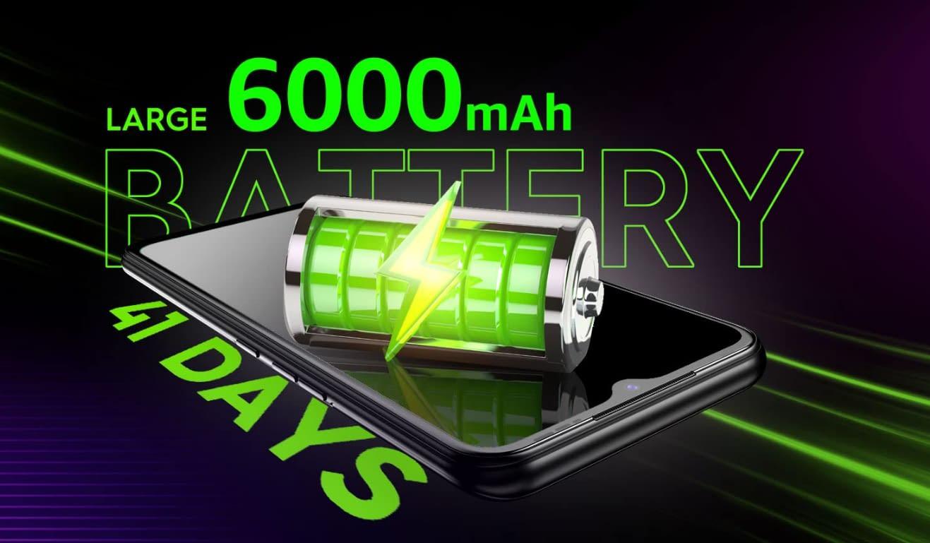 Tecno Spark 7 battery