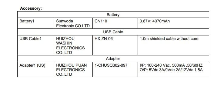 Nokia N1374DL FCC details (3)