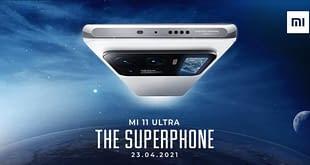 Xiaomi Mi 11 Ultra India launch date