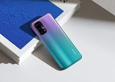 OPPO A54 5G in Fantastic Purple colour