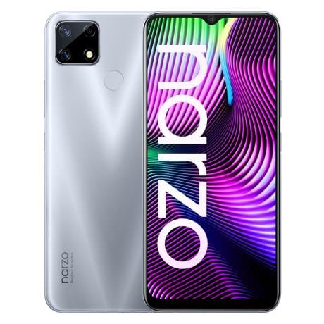 Realme Narzo 20 - Glory Silver
