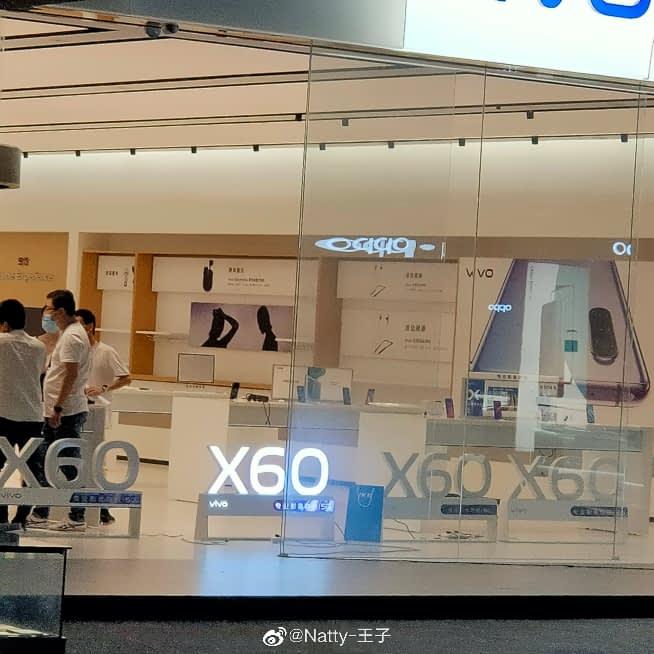 Vivo X60 teaser