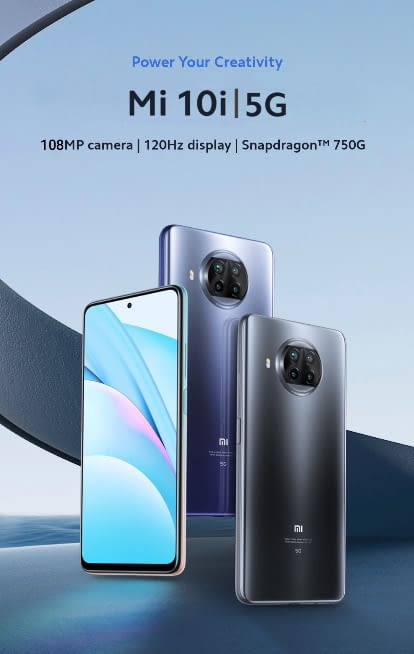 Xiaomi Mi 10i 5G poster