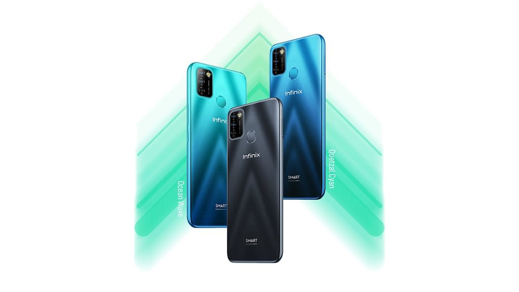 Infinix Smart 5A colours
