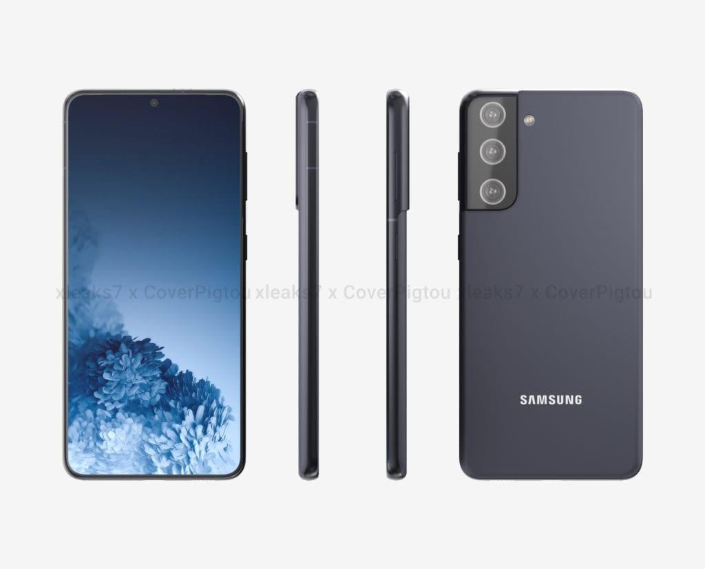 Samsung Galaxy S21 leaked render(2)