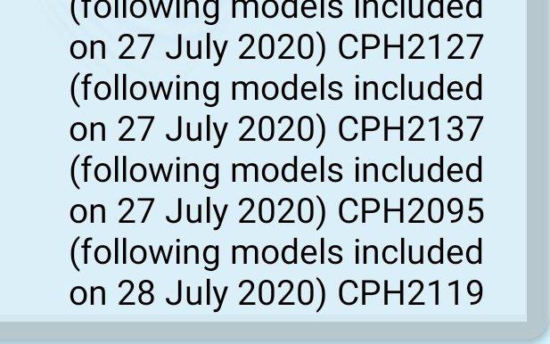 OPPO CPH2137 - BIS