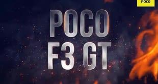 POCO F3 GT teaser