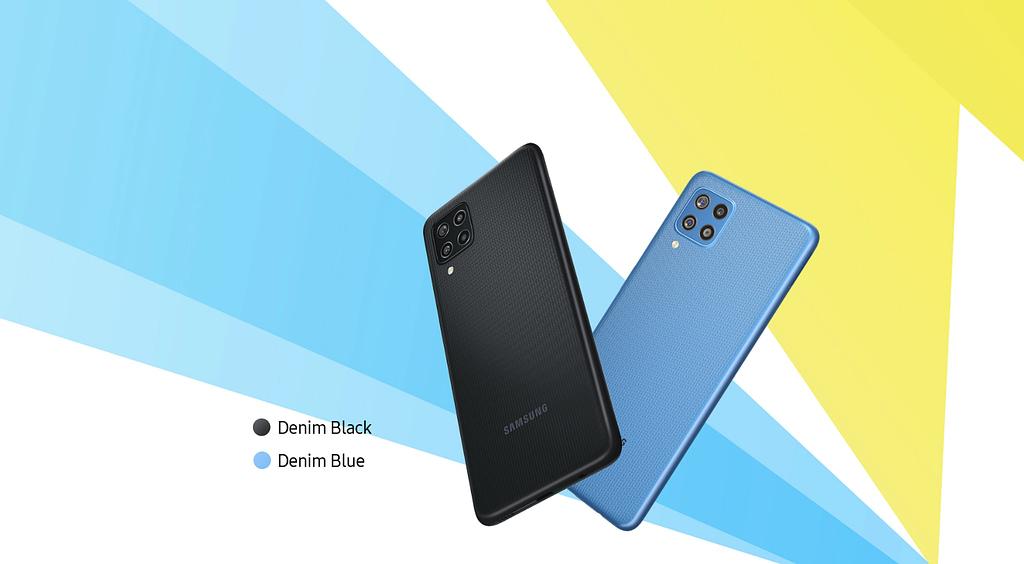 Samsung Galaxy F22 colour options