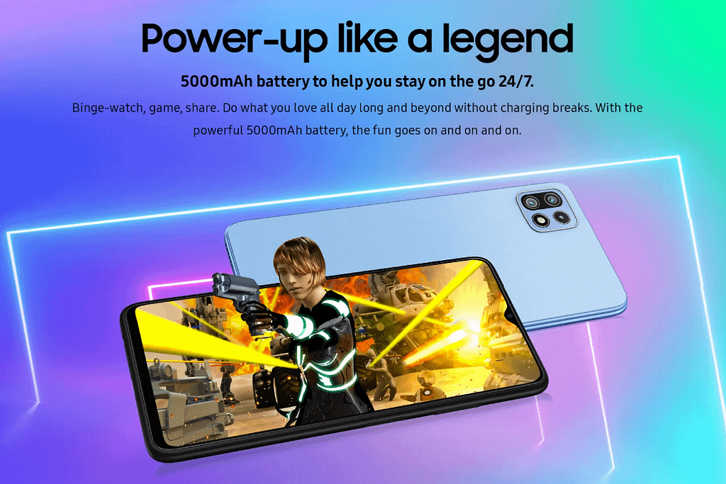 Samsung Galaxy F42 5G battery