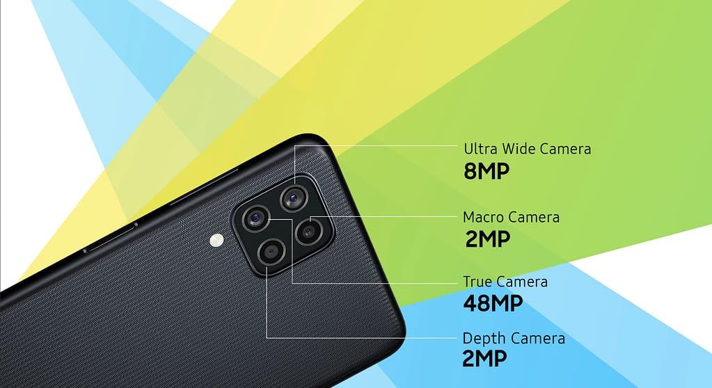 Samsung Galaxy F22 camera details