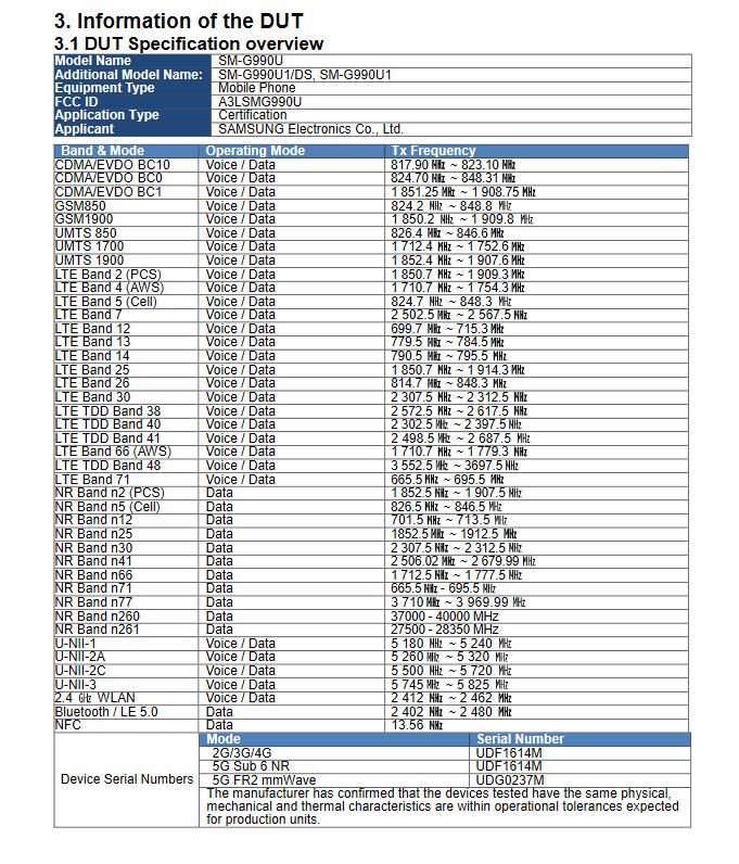 Galaxy S21 FE (SM-G990U) FCC-4