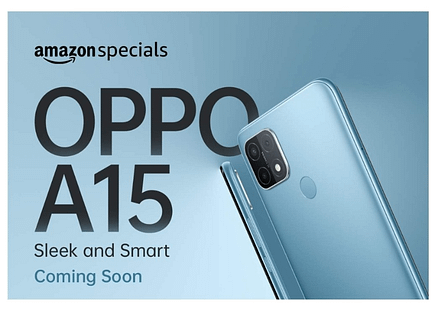 OPPO A15 India launch