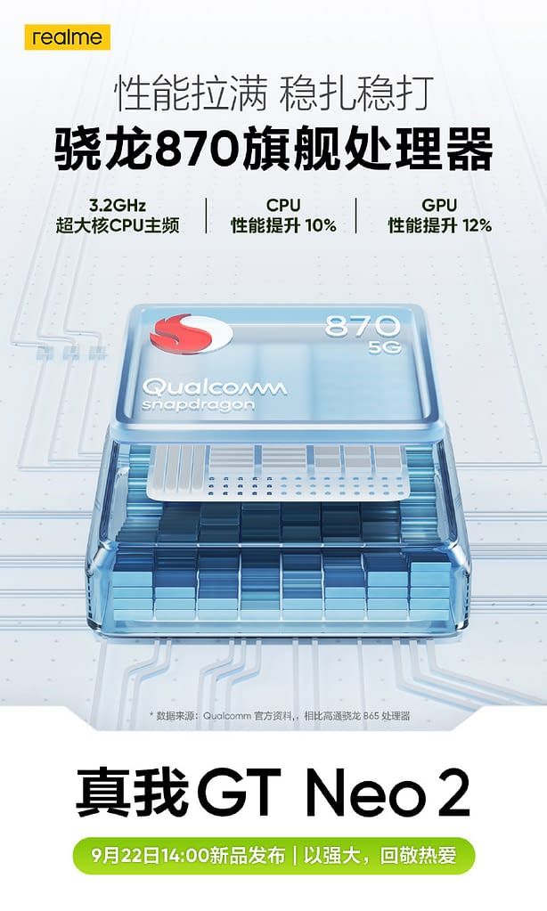 Realme GT Neo 2 battery and charging