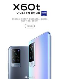 VIVO X60t poster