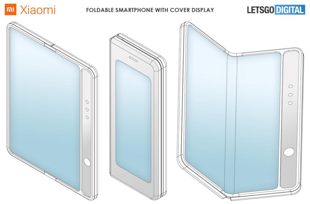 xiaomi foldable smartphone patent image(1)