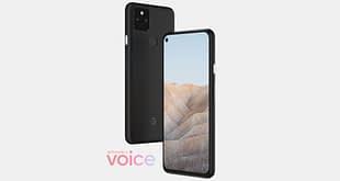 Google Pixel 5a 5G render
