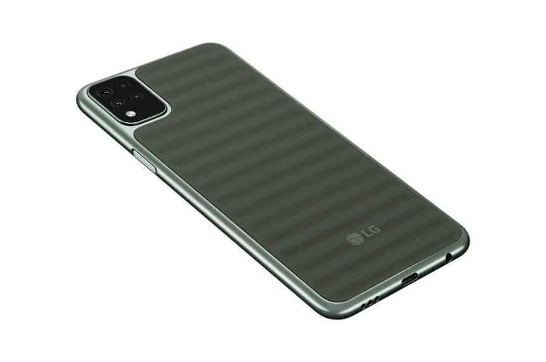 LG K42 - rear side