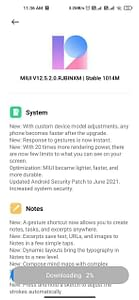 Xiaomi Mi 10 MIUI 12.5 update India