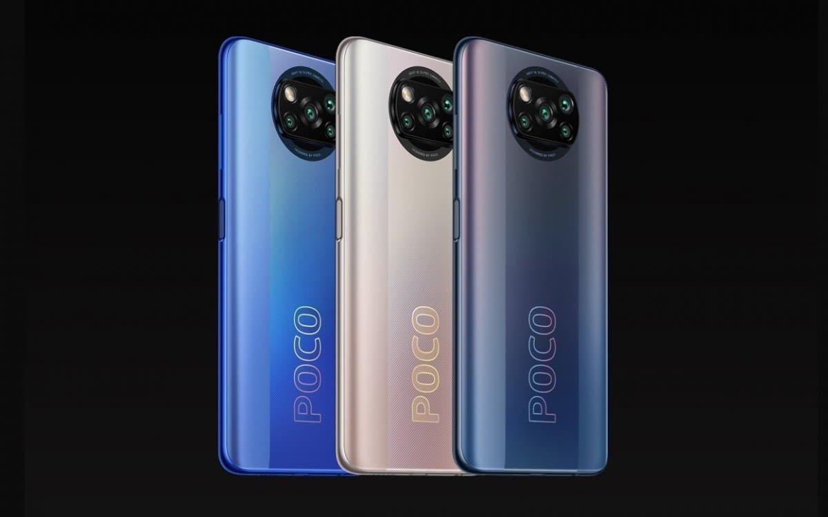 POCO X3 Pro colors