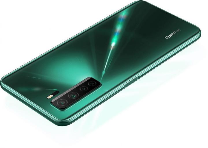 Huawei Nova 7 SE 5G Youth in green color