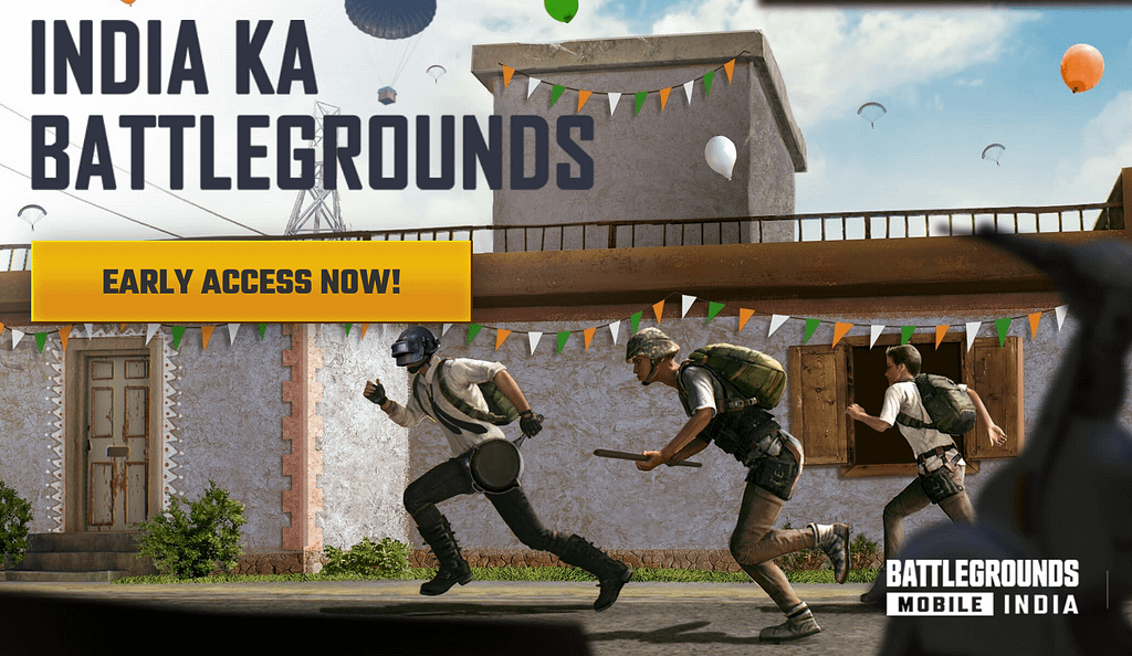 Battlegrounds Mobile India early access beta app