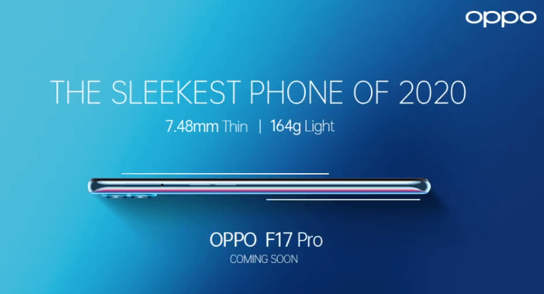Oppo F17 Pro teaser