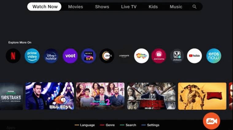 JioTV Plus