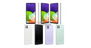 Samsung Galaxy A22 4G leaked render