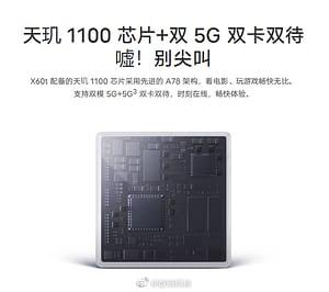 VIVO X60t processor